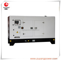 50Hz wate cooled AC three phase 250kva Silent diesel generating set China supplier