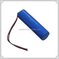 1S1P Rechargeable 3.7V 2.6AH 18650 battery pack