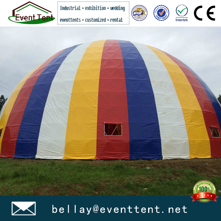 Steel frame structures free span design geodesic dome tents for events