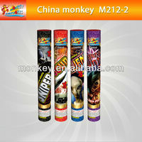 2Shots hand hold double shot roman candle fireworks(M212-2)