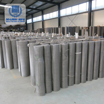 high grade micron stainless steel wire mesh woven screen net