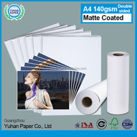 Top quality a4 300gsm waterproof printing roll high glossy paper inkjet matte coated photo paper