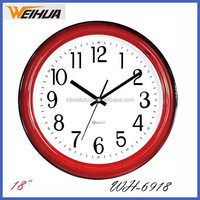 18 inch analog wooden like big size wall clock