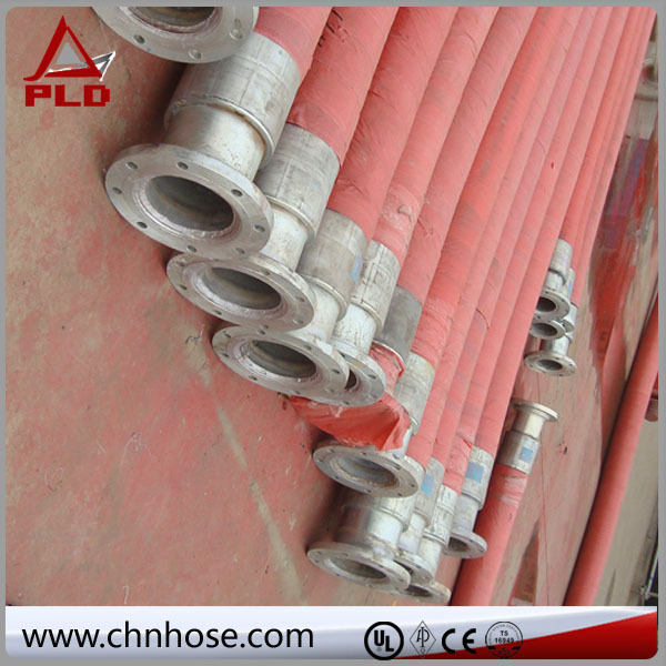 soft oil bunker hose with coupling
