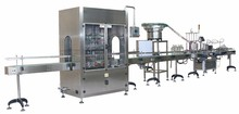 Edible engine Oil filling capping aluminum foil sealing filling machine