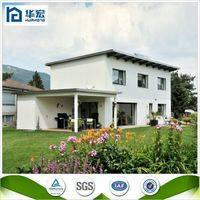 Beautiful easy to installation steel concrete flat roof house designs
