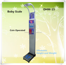 DHM-15 Voice Broadcast Ultrasonic Body scale