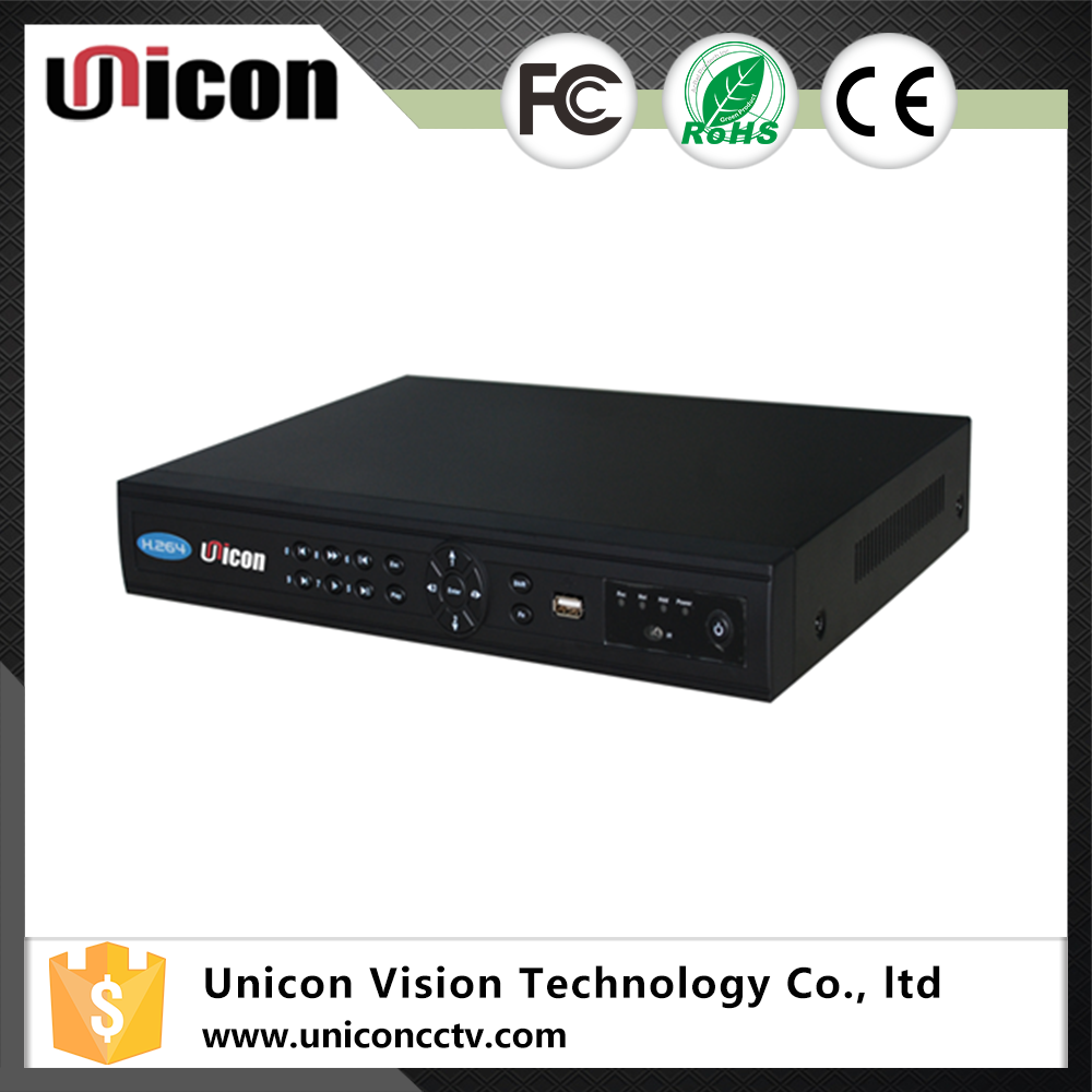Unicon Vision h.264 rs485 nvr poe kit 8 channel 720p camera with ios android app