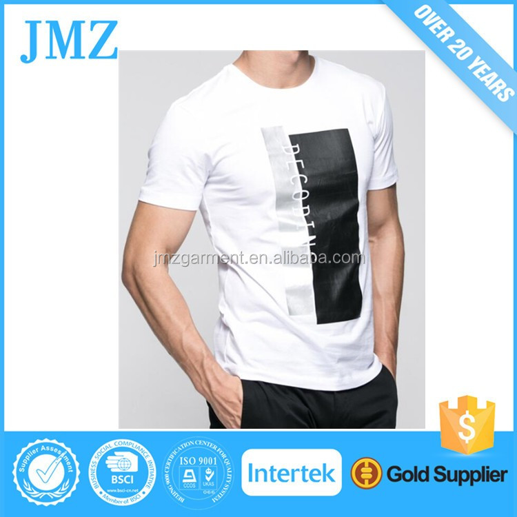 Wholesale custom fabric latest dry fit t shirt for men