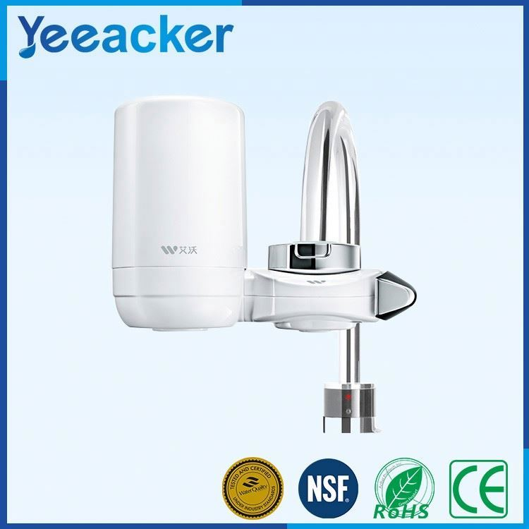 Water filter counter top using