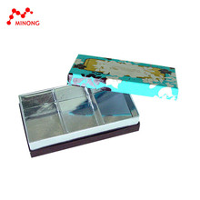 Wholesale manufacture paper custom printed wax coated paper food box