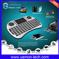 new 2.4g mini wireless backlit keyboard with touchpad.