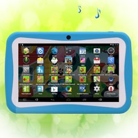 Wholesale alibaba !children tablet 7 inch wifi soft cover smart tablet for kids