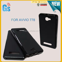 Candy Color Matte Skin Soft TPU Gel Case For Avvio 778