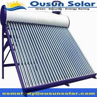 High standard compact non-pressurized galvanized facts about solar energy