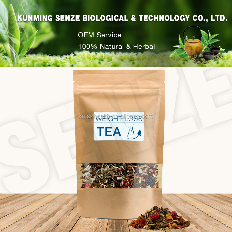 Customized Service Natural Fast Weight Lose Tea 14 Day Body Cleansed Tea