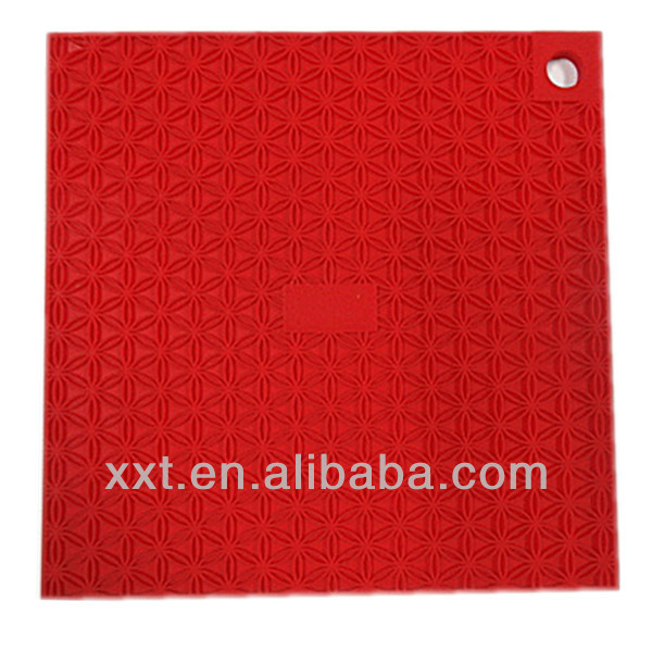 Manufacturer directly sale silicone kitchen plastic placemat