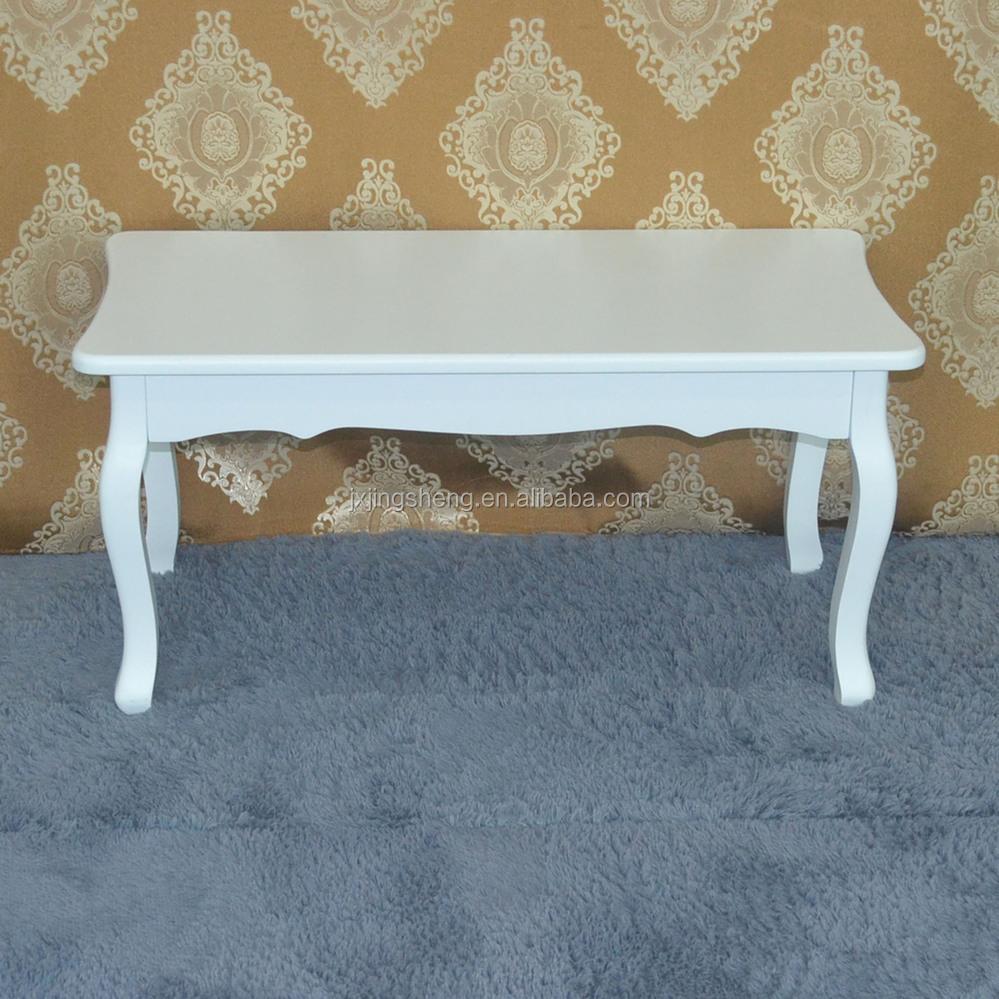 Bisini Handmade Carving Antique Kd Mdf Wood Price White