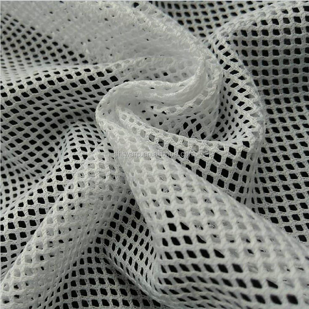 hot sale polyester mesh fabric shoes bags garment lining fabric