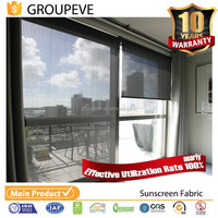 Curtains Block Out Light Fabric For Shade Rolling Curtains