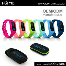 Calorie count and sleeping monitoring wristband pedometer with accelerometer