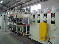 Plastic PET Sheet extrusion machine no need dryer and crystallizer