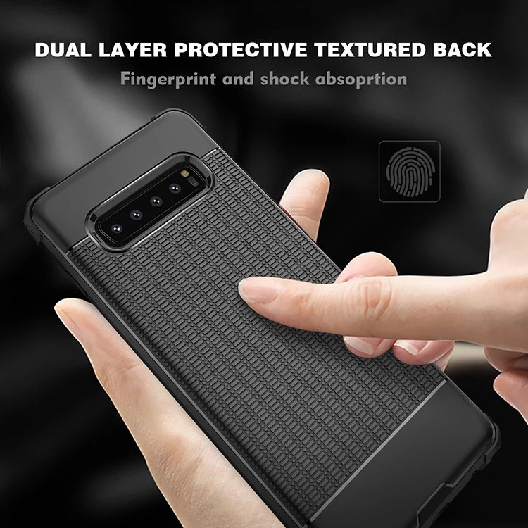 Shockproof Bumper Soft Tpu Bulk Cell Phone Case For S10 S10 Plus S10e Cover