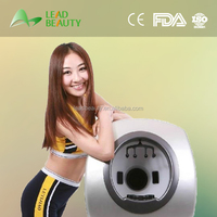 Portable best quality magic mirror skin analyzer for face tester