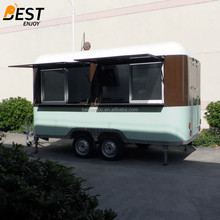 China made hot sale mobile hot dog/ice cream /juice food trailer