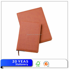 Free sample leather notebook/vintage leather journal/note book cover
