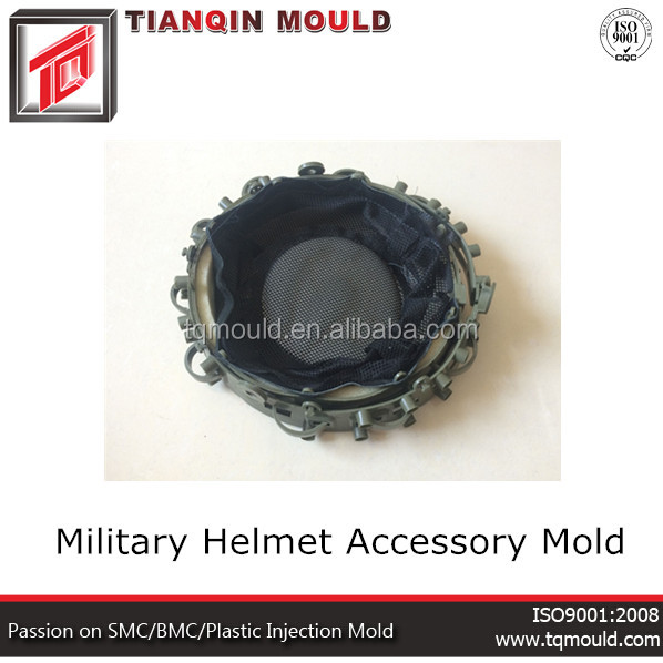 Military helmet mold