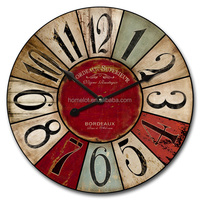 New Home Decoration Metal Wall Clock Modern Design Extra Large Table Clock