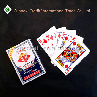 Magic paper Material and Normal,Custom Playing Cards Printing Type