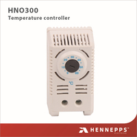 HENNEPPS Cabinet Use Fan Heater Adjustable Electric Counter Bimetal Thermostat Temperature Switch