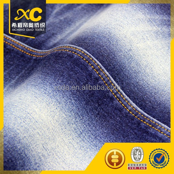 14oz cotton softtextile denim jean fabric for men jeans