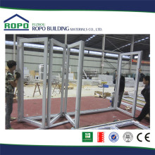 Direct factory price UPVC white frame folding upvc window door plant