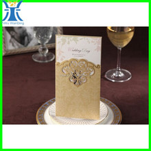 Yiwu 2015new arrived attractive custom made wedding invitation sample birthday invitation card