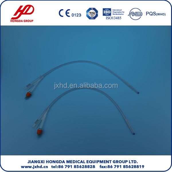 Disposable Silicon Latex Foley Catheter