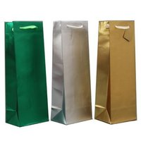 luxurious paper wine bag