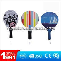 Paddle racket/ Beach paddle / Paddle bat and ball