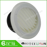 Adjustable Mounted Ceiling Exhaust Air Diffuser / Air Conditioning Round Grilles Vent Diffuser