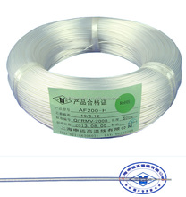 teflon insulated Transparent Custom Sizes 1mm 2mm Electrical Wire