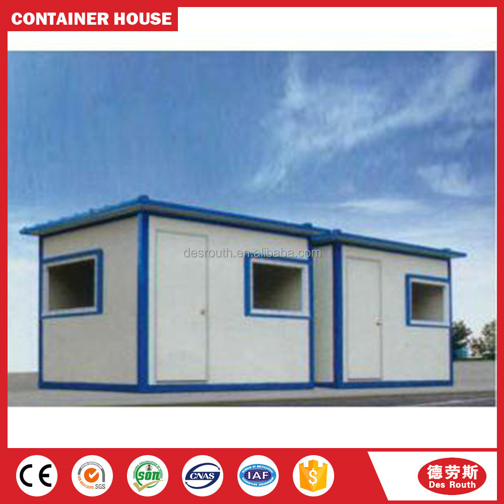 Earthquake Resistant Firm Prefab Solar Panel Container House