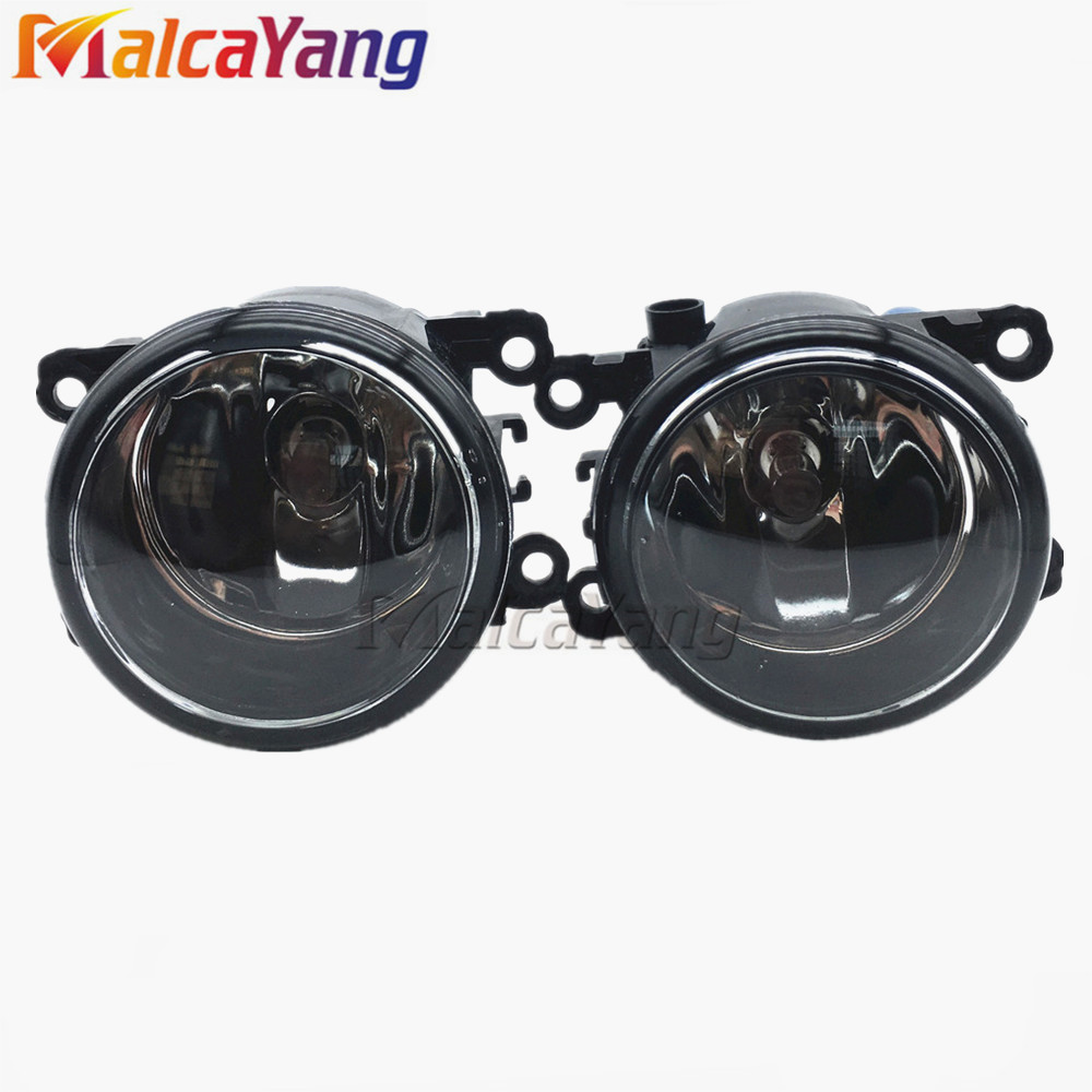 For Renault MEGANE 2 estate 2002-2015 <strong>Front</strong> Fog Lamps Fog Lights Halogen Car Styling 1 SET 35500-63J02