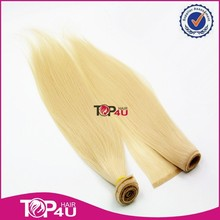 Wholesale 100% top quality 7A Brazilian remy cuticle pu weft