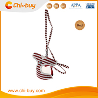 Best Polyester Personalized Red Striped Sailor Puppy Dog Leash and Harness Free Shipping on order 49usd