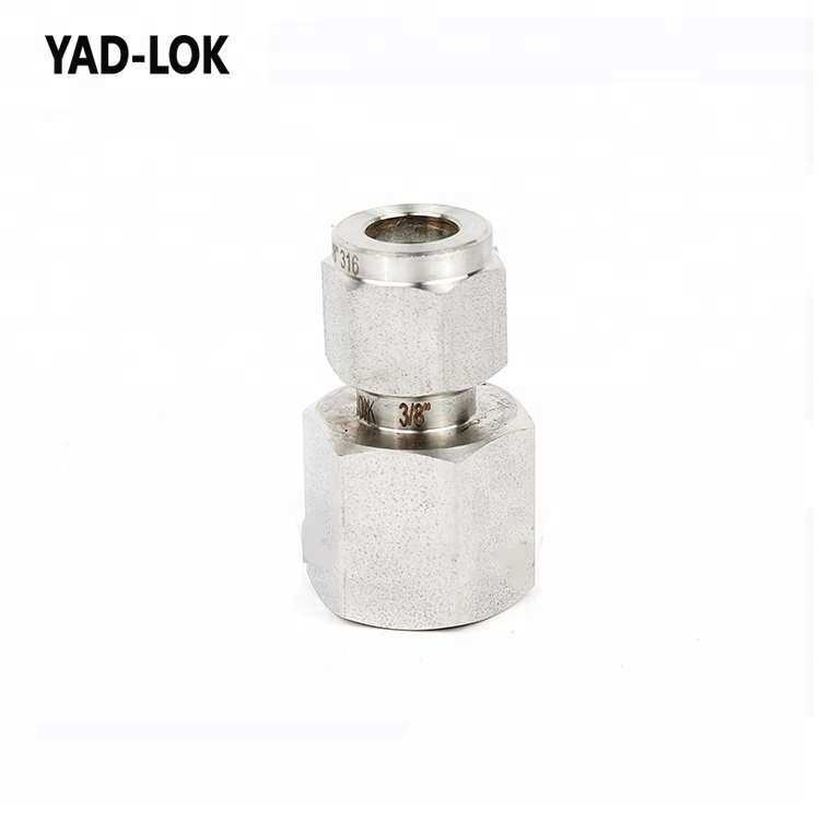 YAD-LOK China Wholesale pipe fittings SS Male/Female connector