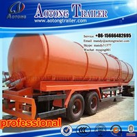 China hot sale chemical liquid transportation tank trailer, fuel tank trailer, oil tanker semi trailer