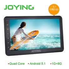 10.1 inch Quad core Android 5.1 ROM 16GB HD touch Screen stereo M-link car dvd navigation for Toyota