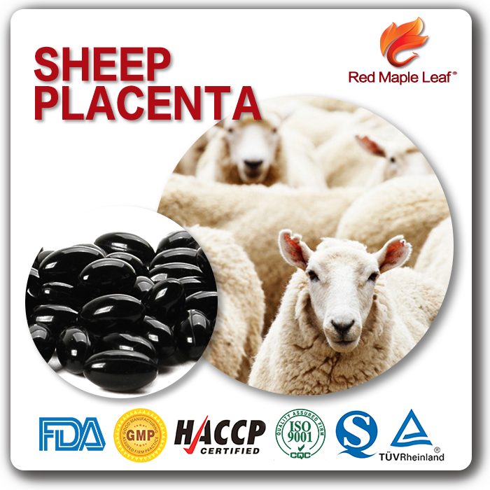 Beauty Products Skin Whitening Lamb Placenta Softgel Capsule